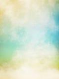 Brouillard vert et jaune Image libre de droits