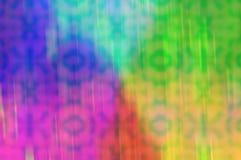 Brouillez la glissière et les papiers peints et les milieux de texture de bokeh de laser Photos libres de droits