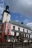 Broumov monastery Stock Image