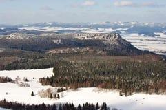 Broumovske Steny Mountains Royalty Free Stock Photos
