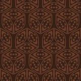Broun tapetowy wzór Zdjęcie Royalty Free