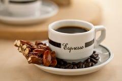 Brouw koffie stock foto's