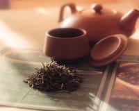 Brouw thee royalty-vrije stock afbeeldingen