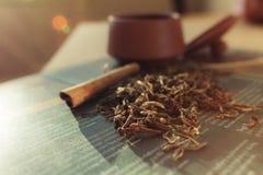 Brouw thee stock fotografie