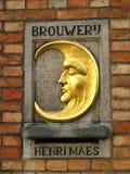 Brouwerij De Halve Maan Stock Image