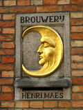 Brouwerij De Halvera Maan Fotografering för Bildbyråer