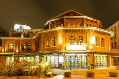 Brouwerij in Wuppertal-Barmannen stock afbeelding