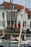 Brouwershaven малый город на Grevelingen в голландской провинции Зеландии Стоковая Фотография