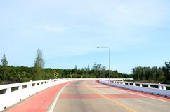 Broväg Arkivfoto