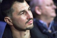 Brovary Ukraine, 14 11 2015 ein Porträt super leichten Meisters WBC, Postol lizenzfreies stockbild
