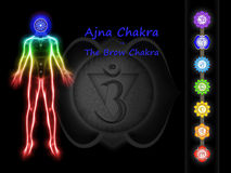 The Brow Chakra Stock Image
