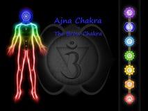 The Brow Chakra Stock Image