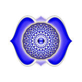 The Brow Chakra Mandala Royalty Free Stock Photography