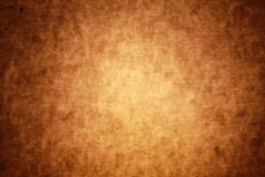 Brow old Parchment textured background Royalty Free Stock Images