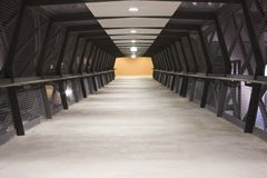 browalkway Arkivfoto