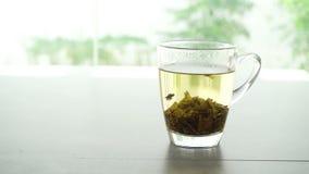 Browarniany Jaśminowy herbaciany sześcian zdjęcie wideo