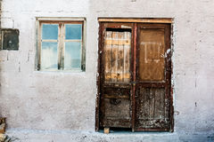 Browen Door. This Is Art photography on places Stock Photography
