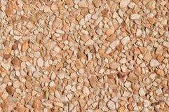 Browish pebble floor Stock Photography