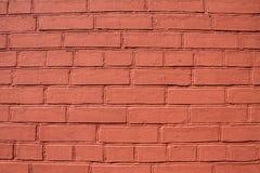 Brown ściana z cegieł Zdjęcie Royalty Free