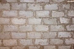 Brown ściana z cegieł Obrazy Royalty Free