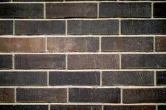Brown ściana z cegieł tło Zdjęcia Stock