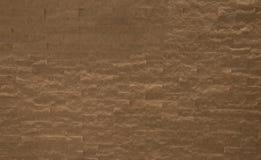 Brown ściana z cegieł tekstura Obraz Stock