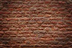 Brown ściana z cegieł tekstura Zdjęcie Royalty Free
