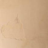 Brown ściany tło Obraz Royalty Free
