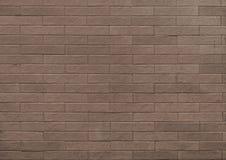 Brown ściany z cegieł wzoru powierzchni tekstura W górę wewnętrznego materiału dla projekt dekoracji tła zdjęcie stock