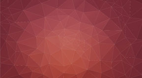 Brown abstract background consisting of triangles Royalty Free Stock Images