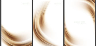 Brown Abstract background high technology collection Royalty Free Stock Photo