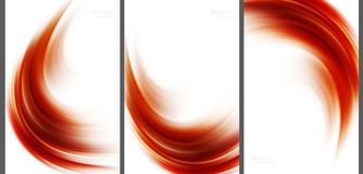 Brown Abstract background high technology collection vector illustration