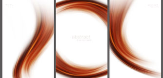 Brown Abstract background high technology collection.  Royalty Free Stock Image