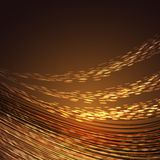 Brown abstract background with lines Stock Image