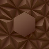 Brown abstract background vector. Stock Photos