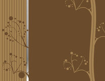 Brown abstract earthy design 1. Brown abstract background with silver accent Royalty Free Stock Photography