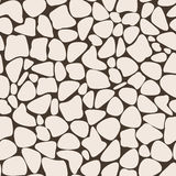 Brown Abstract Geometric Seamless Pattern Stock Photos