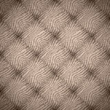 Brown abstract linen background Stock Image