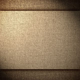Brown abstract linen background Stock Photo