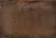 Brown abstract painted. Canvas background Stock Images