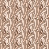 Brown abstract seamless pattern vector illustration