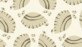 Brown Abstract Seashells Background Royalty Free Stock Photography