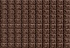 Brown Abstract Textured Rectangular Geometric Background. Design can be used for Articles, Printing, Illustration purpose,. Background, website, businesses vector illustration