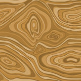 Brown abstract wave design element, wood texture, background vec Royalty Free Stock Images