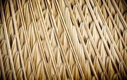 Brown-abstrakter strukturierter Reedhintergrund stockfoto