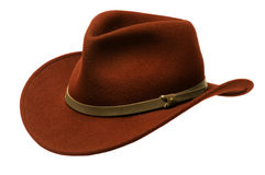 Brown Adirondack Hat Royalty Free Stock Photography
