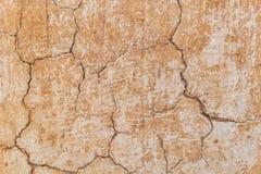 Brown adobe gliny ściany tekstury tło Obrazy Stock
