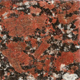 Brown African marble. A scan of a brown African marble Stock Images