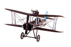 Brown airplane model Stock Images