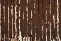 Brown-alte bewaldete Wand Lizenzfreie Stockfotografie